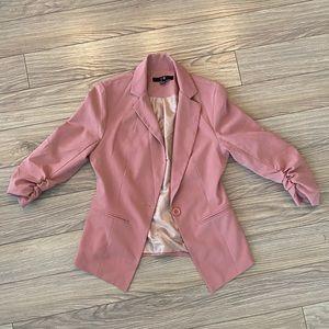 Forever 21 Rose Pink Blazer